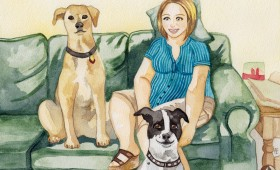 Jenny, Sophie and Daisey