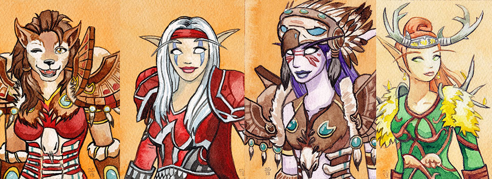 Blizzcon Badges – Druids