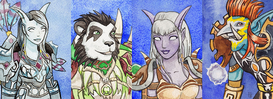 Blizzcon Badges – Shaman